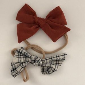 Little Poppy Co October 2018 bows